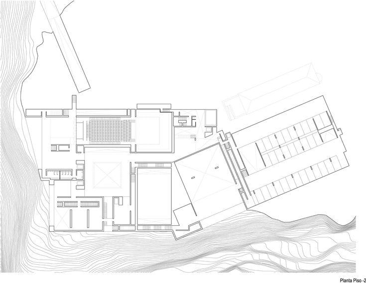 Centro para las Artes Casa Das Muda,planta p-2