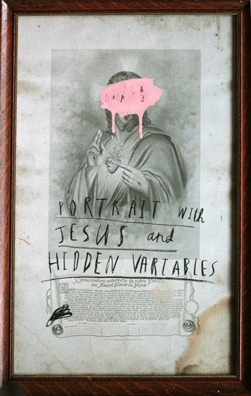 Oliver Jeffers - Portrait of Jesus and Hidden Variables