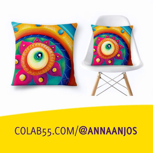 Pillows, mugs and cases are now available at online store: www.colab55.com/@annaanjos   www.annaanjos.com