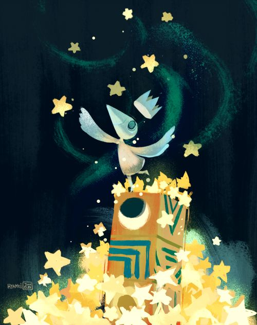Sea of Stars -Abigail L. Dela Cruz because ustwo games deserves more stars for their amazing work!
