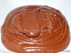CREMA PASTELERA DE CHOCOLATE, CON THERMOMIX