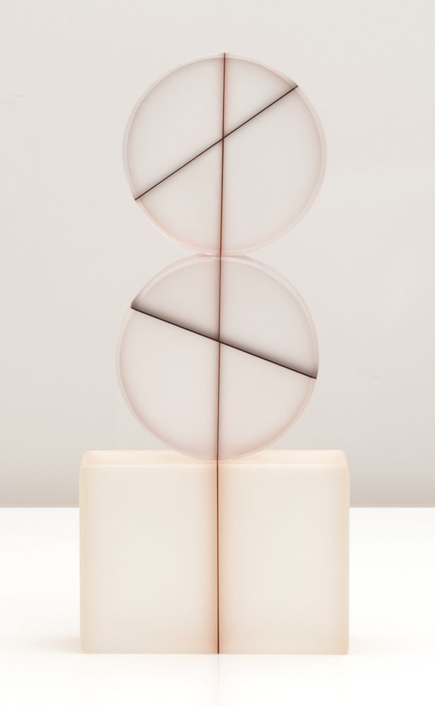 glass: Untitled No. 496 by Rhoda Baer (via yellowtrace)