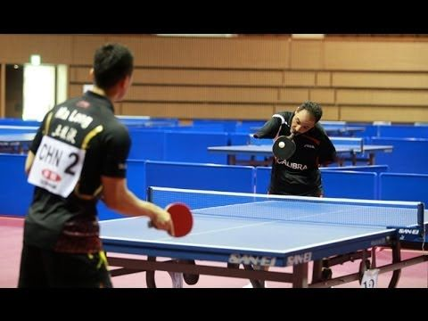 Ibrahim Hamato is an extraordinary table tennis player. | This Table Tennis Player Has No Hands And Is A True Inspiration