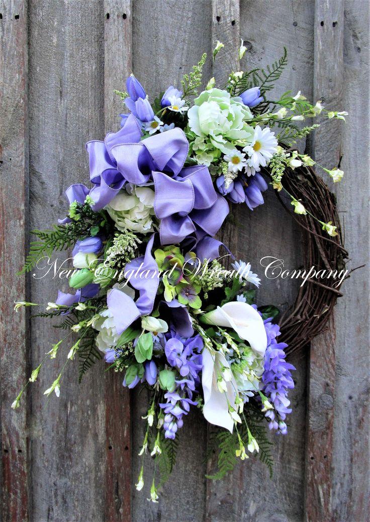 Tisbury Spring Garden Wreath