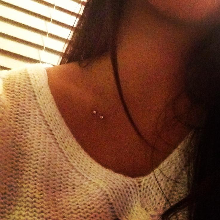 My new Dermal piercing :)