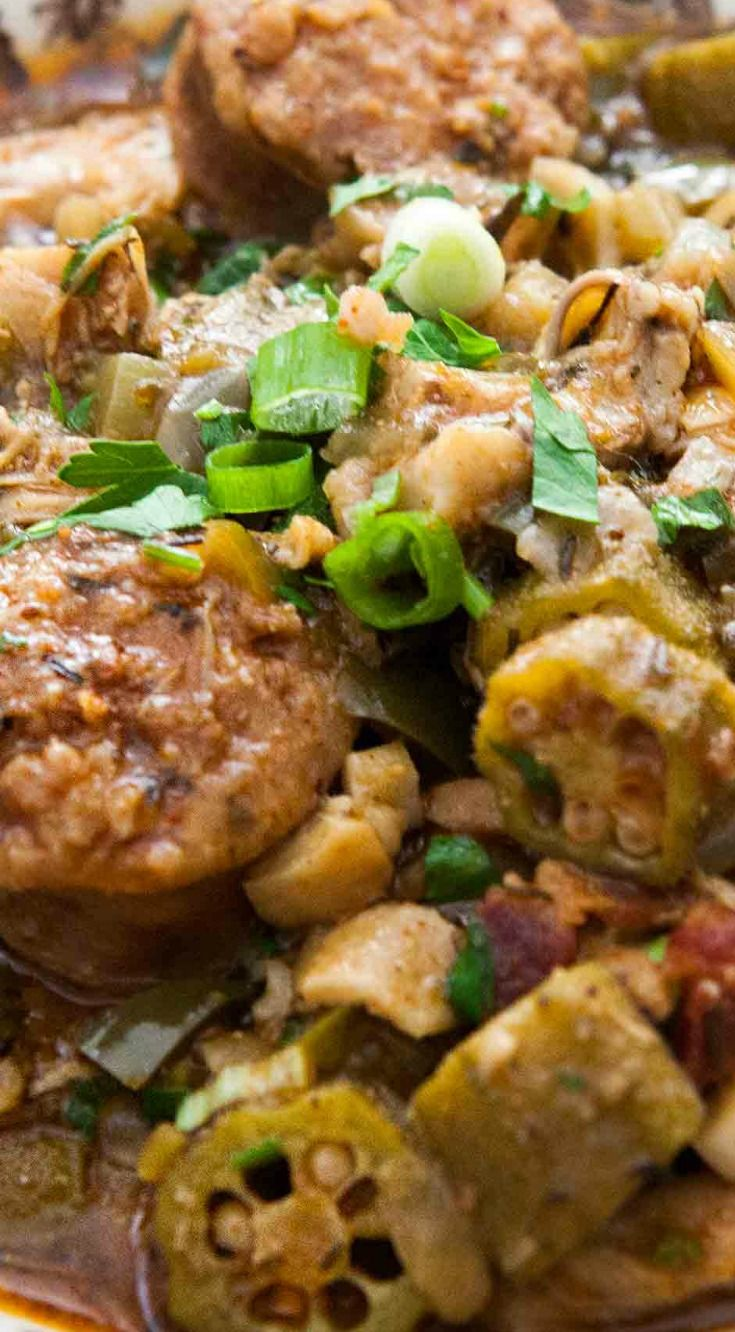 Chicken Gumbo with Andouille Sausage Recipe
