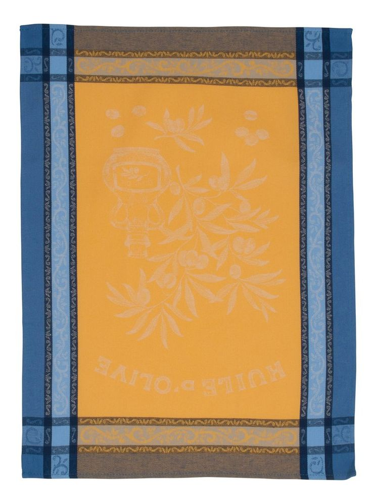 """""""Olives"""" Jacquard Tea Towel"""