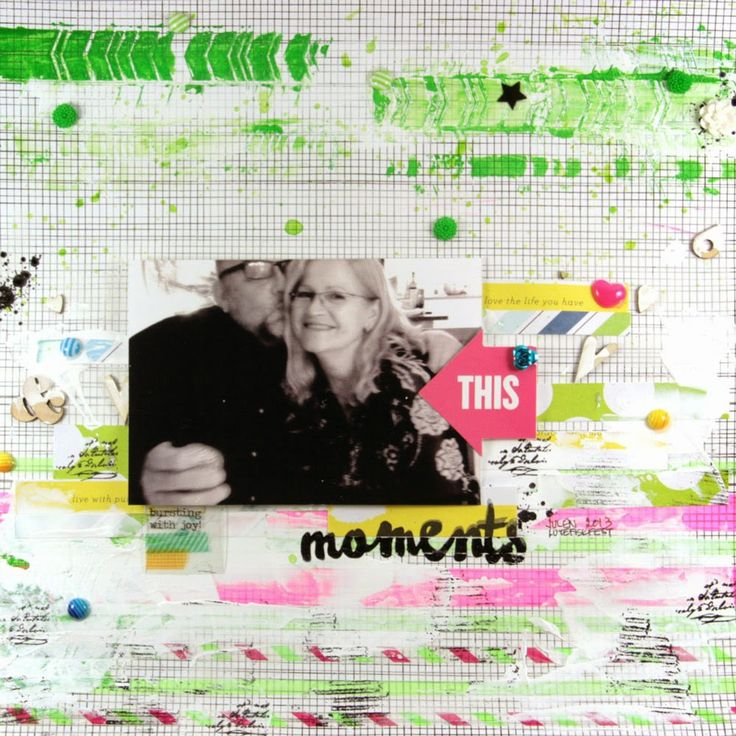 Moments layout created by Dt LindaB for anma.no
