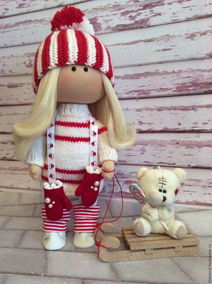 Купить Александра - комбинированный, интерьерная кукла, кукла ручной работы, кукла на заказ, украшение для интерьера