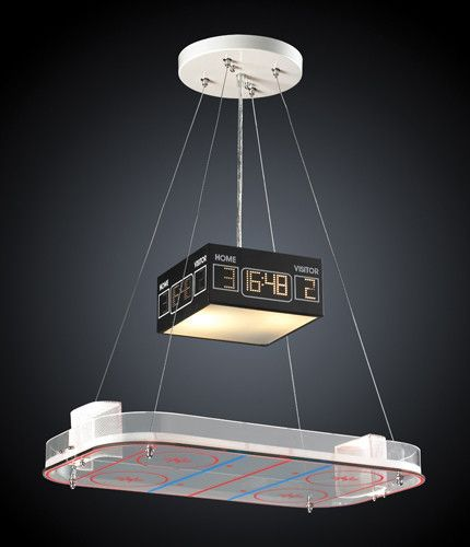 ELK Lighting 5138-2 Two Light Pendant In A Hockey Motif                                                                                                                                                                                 More