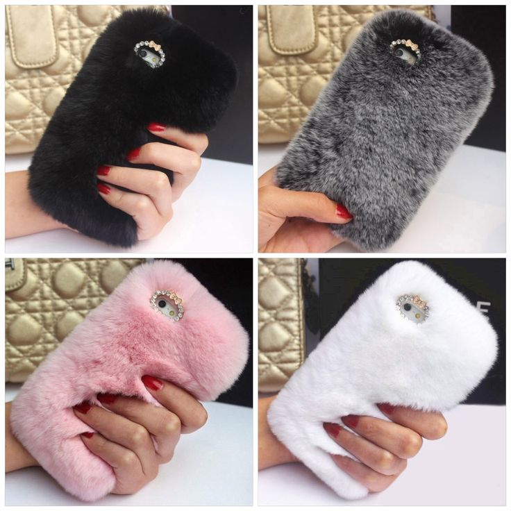 Luxe Fur Phone Case For iPhone 6 and 6 Plus