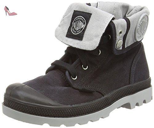 Palladium  Baggy Zipper Ii - Bottes Classiques mixte enfant - Gris (Black) -30 EU (Taille Fabricant: 12 UK) - Chaussures palladium (*Partner-Link)