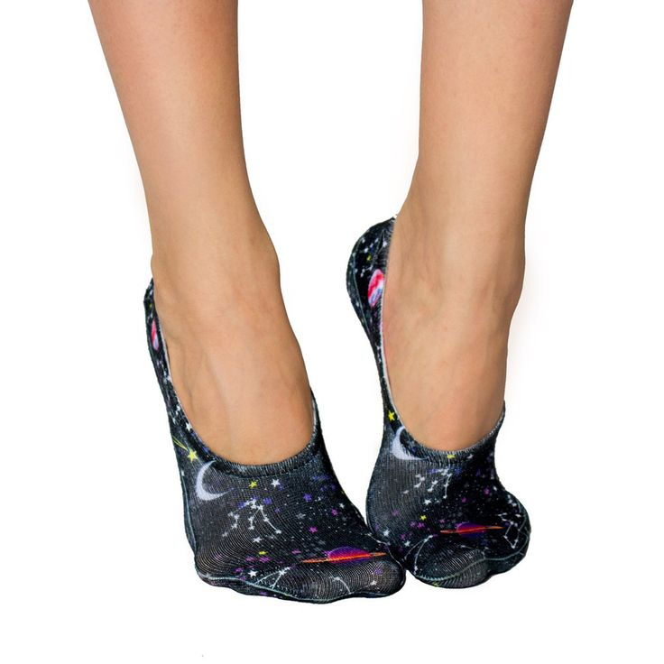 LIVING ROYAL Constellations Liner Socks   Black (101L)