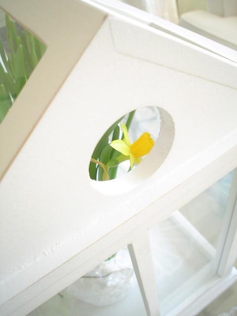 Peek-a-boo for spring...  innostumisia.blogspot.com