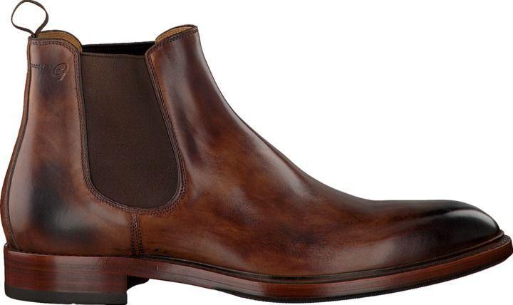 Braune Greve Chelsea Boots PIAVE Männer Mode Schuhe Männer
