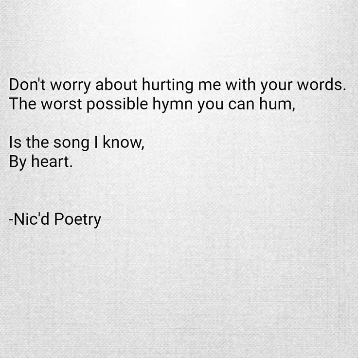 #poetry #poem #words #quote #selfhate #ownworstenemy #nicdpoetry