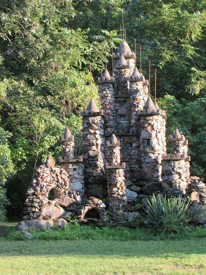 Rock stone castle