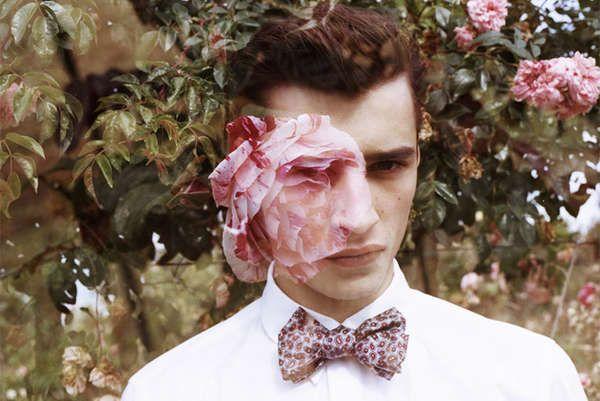 Moody Garden Photgraphy - The Adrien Sahores by Cecile Bortoletti Portrait Series is Dreamy (GALLERY)
