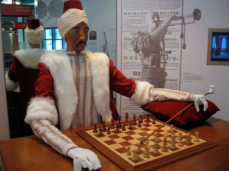 Object of Intrigue: The Turk, a Mechanical Chess Player that Unsettled the World | Atlas Obscura http://www.atlasobscura.com/articles/object-of-intrigue-the-turk