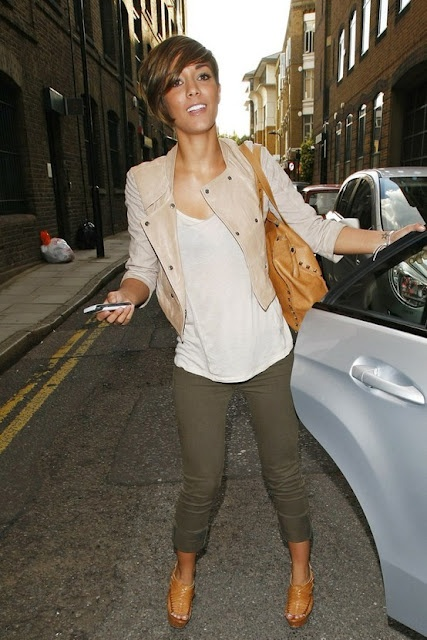 Frankie Sandford...love the outfit