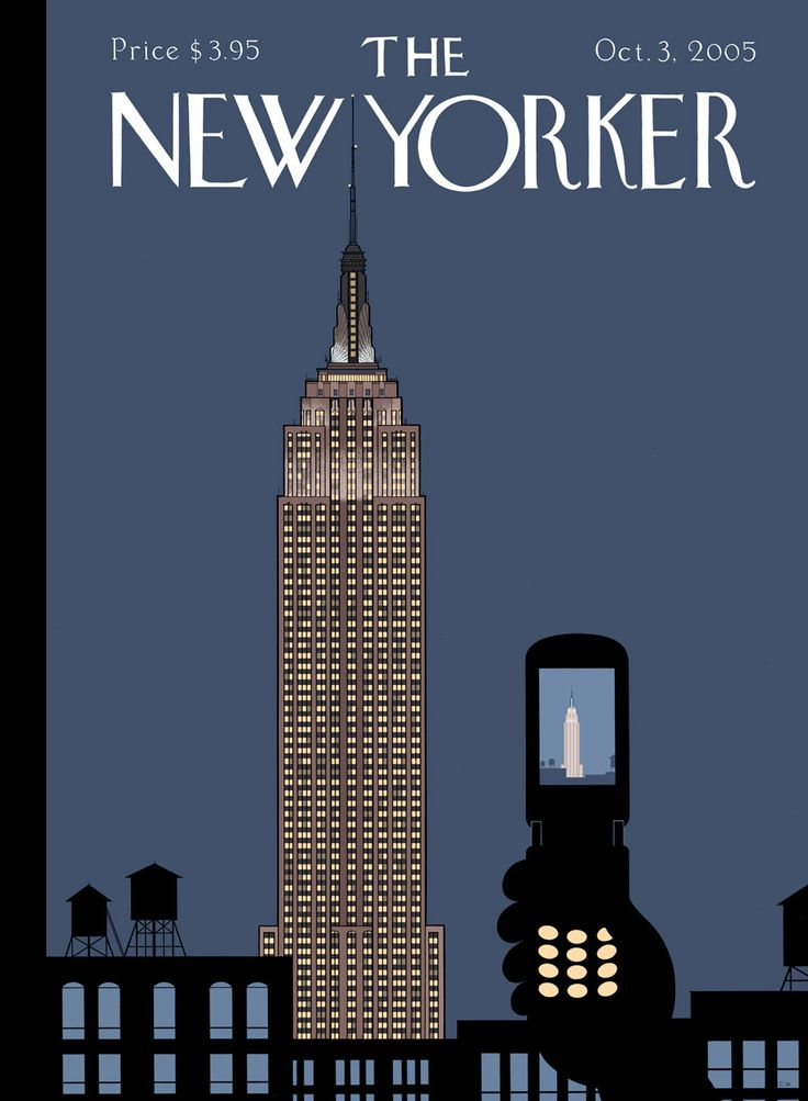 New Yorker cover by Chris Ware - october 2005