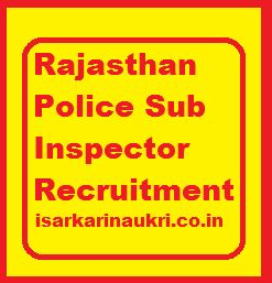 Rajasthan Police Recruitment Board has invited the candidates who have a dream to