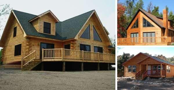 Pre-Fab(ULOUS) Modular Log Cabin Homes