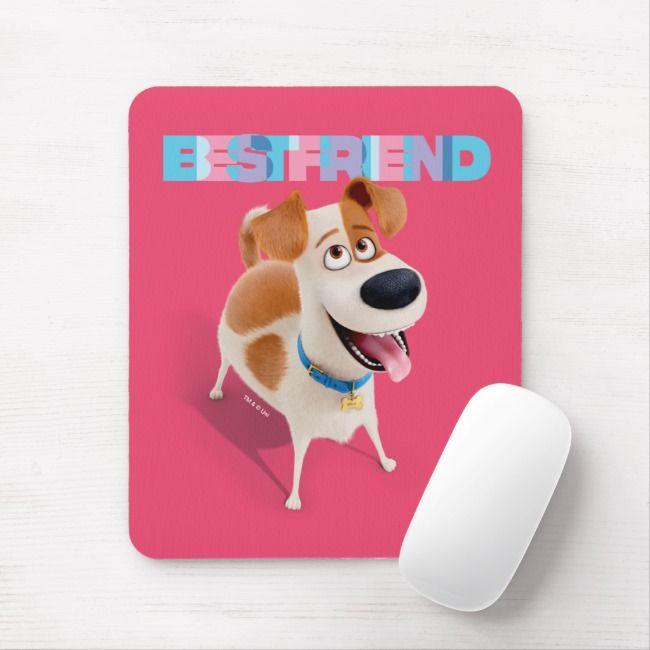 Secret Life Of Pets Max Best Friend Mouse Pad Zazzle Com