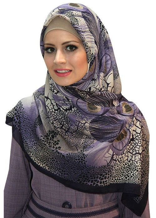 - Turkish Hijab - Square Hijab made of Rayon and chiffon - Specially imported from Turkey - Superior Hijab wear - Cold wash