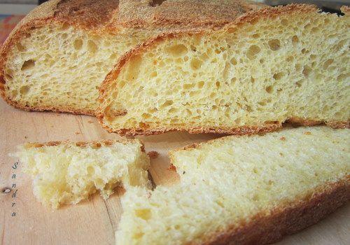dolce forno: Pane con farina di  mais