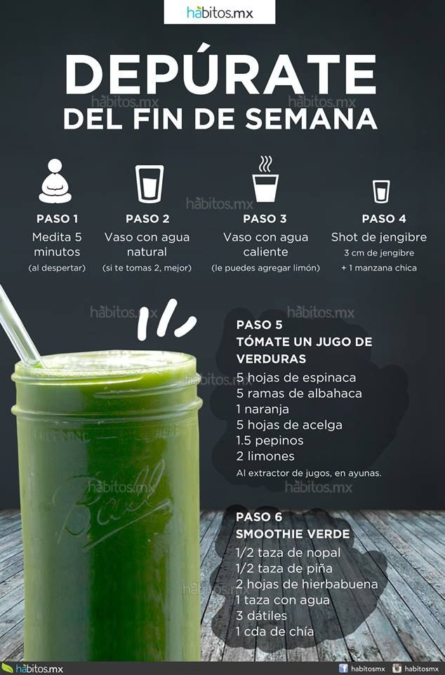 Hábitos Health Coaching | DEPÚRATE DEL FIN DE SEMANA