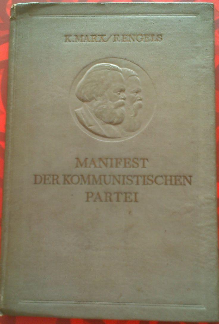 MARX, Karl; ENGELS, Friedrich. Manifest der Kommunistischen Partei. Moskau: Fremdsprachige Literatur, 1939. 63 p.