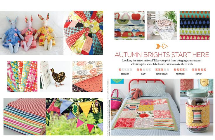Get ready for autumn with our selection of Autumn Brights www.prettypatchesmagazine.com