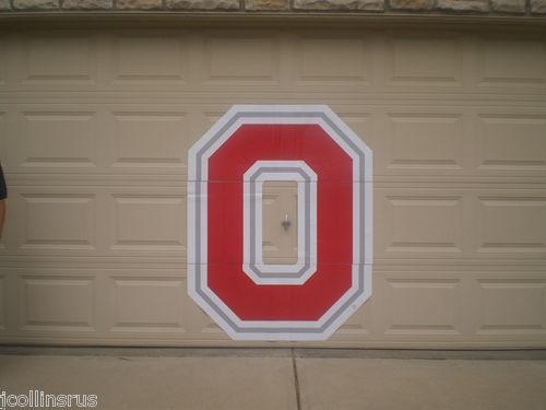 Osu Ohio State Buckeyes Block O Garage Door Magnet On Ebay