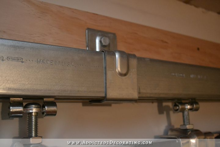 how to install square rail door track - cheap barn door hardware - 14