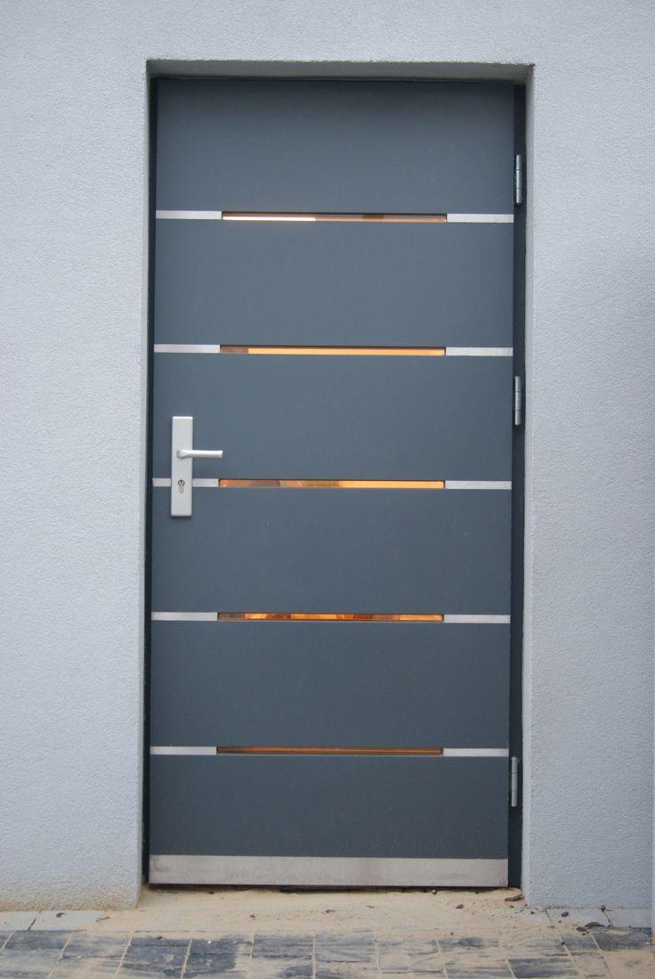 NOWOCZESNE DRZWI ZEWNĘTRZNE   Stolczer  Producent Drzwi Drewnianych Oraz  Schodów · Modern ExteriorExterior Doors