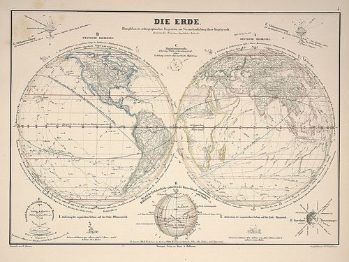 Atlas zu Alex. v. Humboldt's Kosmos in zweiundvierzig.. (botanicus) e   by peacay