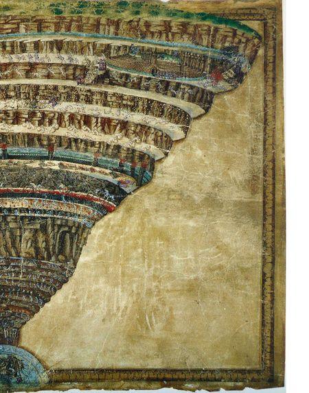 L'Inferno visto da Sandro Botticelli (ca. 1480–1495 ...