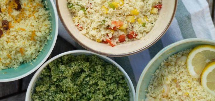 4 Receitas saudáveis de couscous para dar as boas-vindas à Primavera
