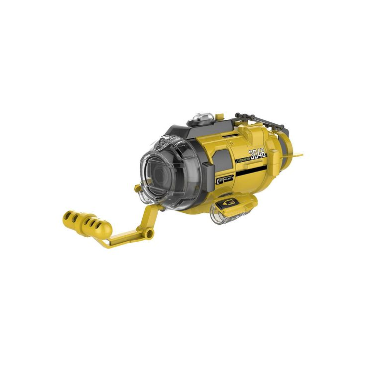 Silverlit Spy Cam Aqua Subaquatic Remote Control Submarine with Camera, Yellow