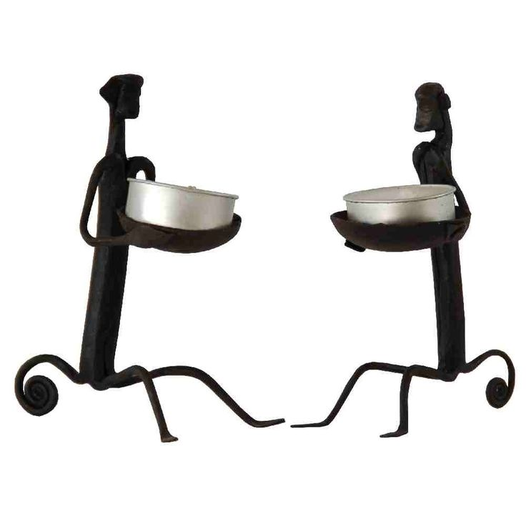 Monkey Candle Stand Set