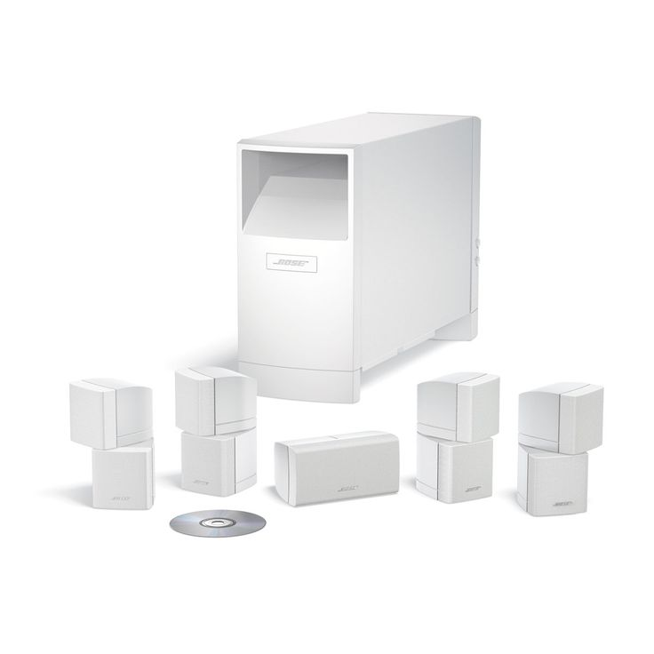 Bose AM-10 IV White - Lifelike Clarity and BOSE AM-10 IV Black -Home Cinema System: Our popular 5.1-channel home cinema speaker system for large rooms Designed for use with your 5.1-channel surround sound receiver Four Direct/Reflecting cube s http://www.comparestoreprices.co.uk/audio-&-home-cinema-speakers/bose-am-10-iv-white--lifelike-clarity-and.asp