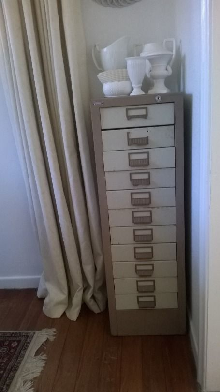 Love my new retro filing cabinet! Gorgeous and practical!