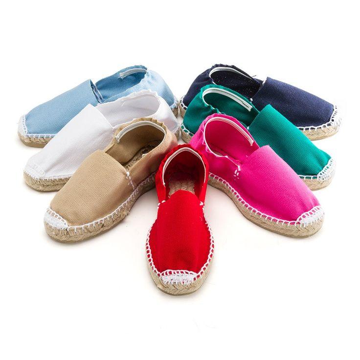 Espadrilles avec Élastique pour Enfant - Chaussures pour Enfant Pisamonas