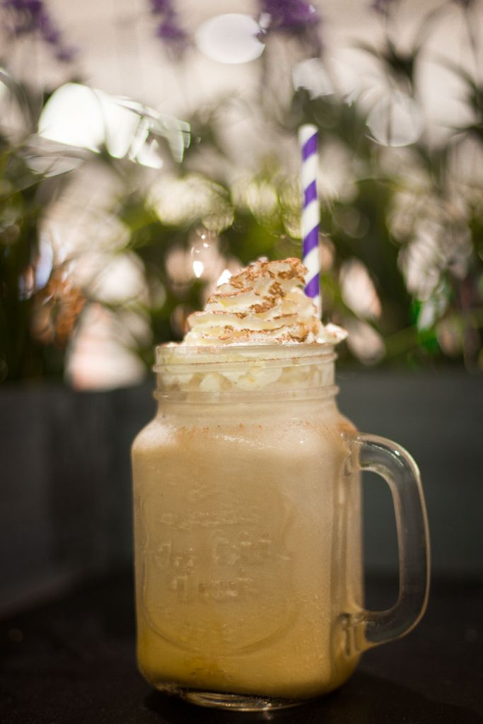 Iced coffee from Essence Café