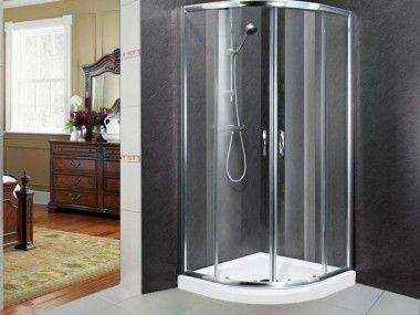 Chrome Quadrant Shower Enclosure G201