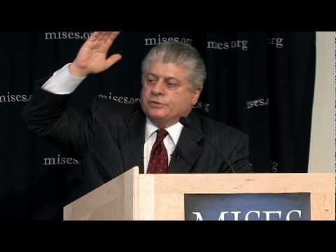 What Ever Happened to the Constitution? | Andrew Napolitano - This is one of my favorite videos of all time!   The Judge gives a surprise talk and Tom Woods is in the audience as well.  The Judge knows his history!