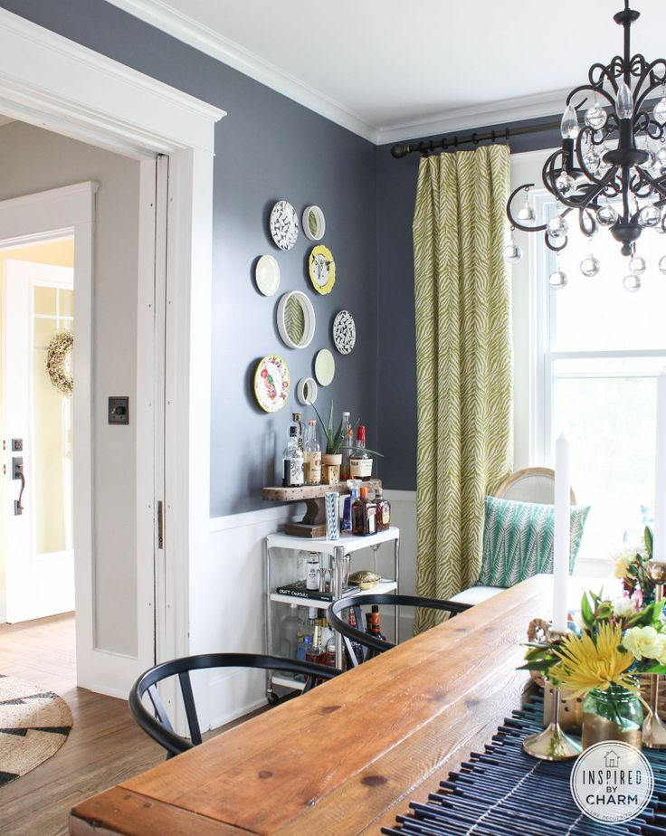 Dining Room // Summer Home Tour 2014 at Inspired by Charm