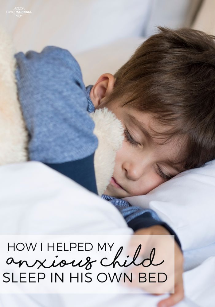 Here are the things I did to transform our scared, restless sleeper into a kid who sleeps soundly in his own bed.