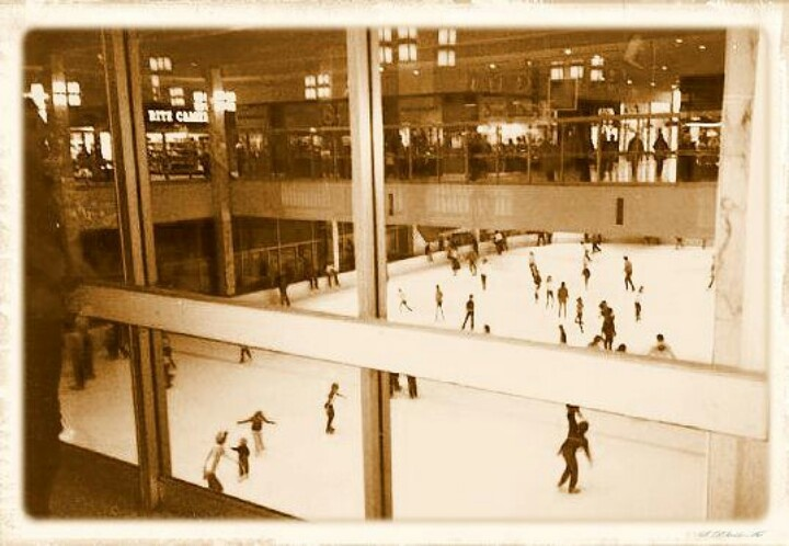 Monroeville Mall ice rink-things that aren't there anymore :(